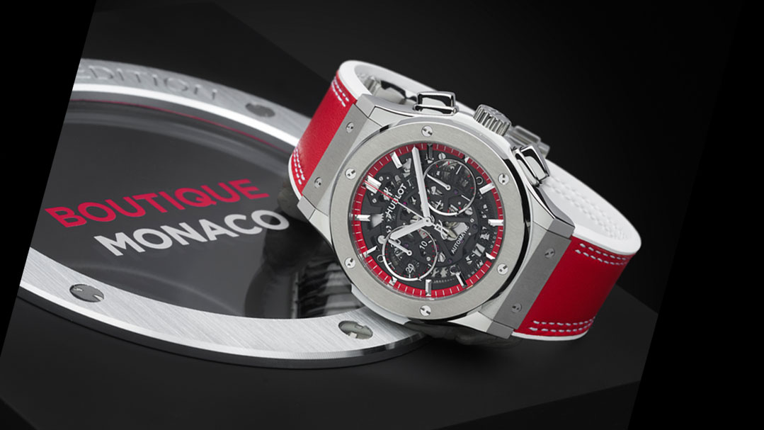 Hublot Classic Fusion Aerofusion Chronograph Special Edition 'Boutique Monaco'-thumb