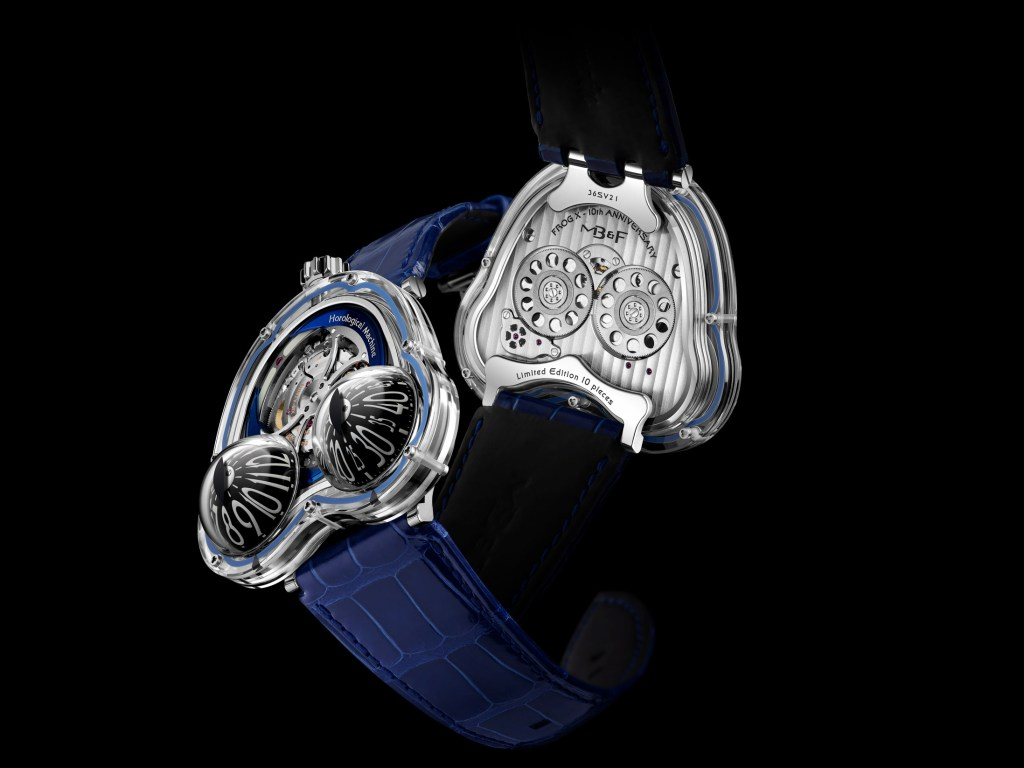 MB&F HM3 Frog X Blue