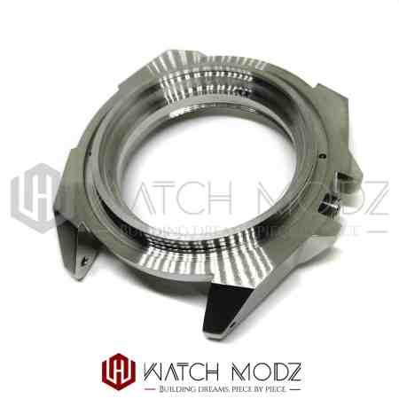 Polished silver Samurai to skx007 conversion case