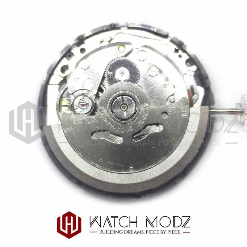 Rear view of Seiko SII NH35 Automatic Movement