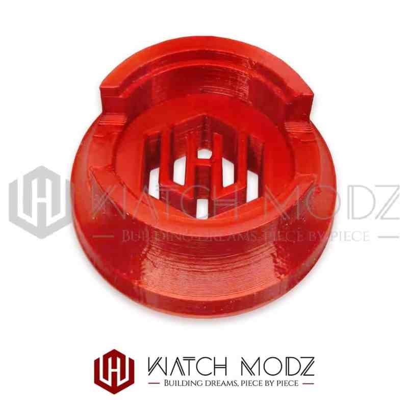 Red nh36 movement holder