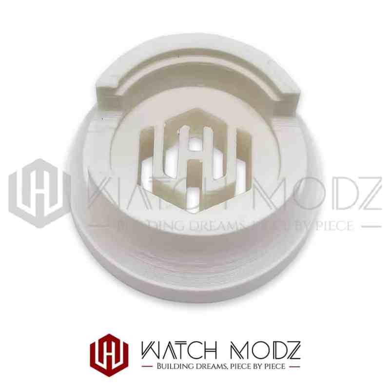 White watch modz nh36 movement holder
