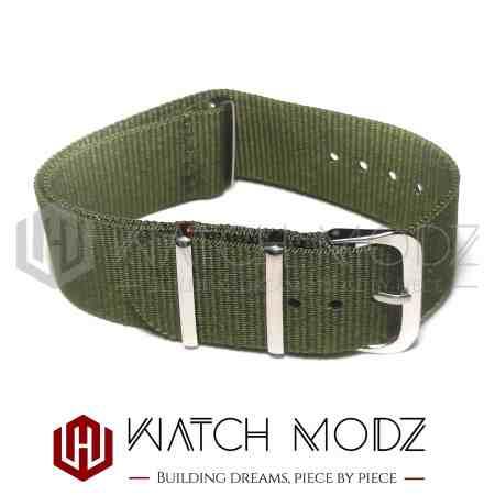 22mm Nato Strap Army Green