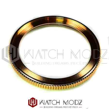 Polished Gold Coin Style Bezel Edge