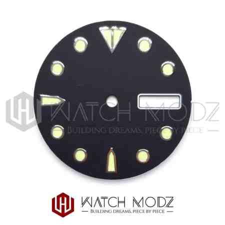 28.5mm C3 Shogun Style Dial for seiko mods