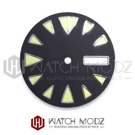 28.5mm C3 Monster Style Dial for seiko mod