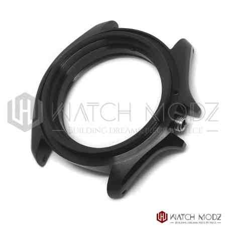 Black 3 o'clock case skx007 compatible for Seiko Mods