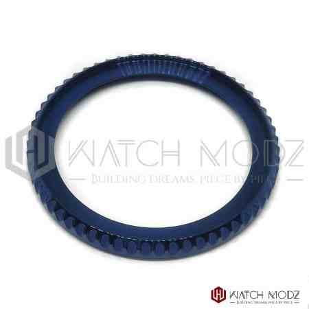 seiko skx007 bezel polished blue sub