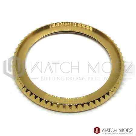 Seiko skx007 polished gold sub bezel