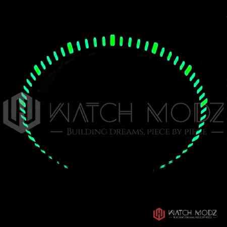 Skx007 black lumed chapter ring lumeshot