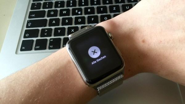 Alle Benachrichtigungen löschen mit Force Touch, Fabian Geissler, Hack4Life, Apple Watch