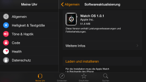Watch OS 1.0.1 Update, Fabian Geissler, Hack4Life