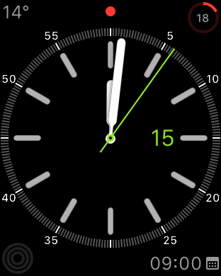 Akkulaufzeit auf der Apple Watch nach einem 15 Stunden Tag, Fabian Geissler, Hack4Life