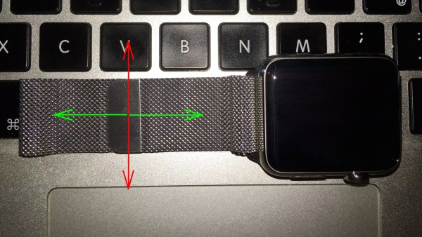 Apple Watch mit Milanaise Loop, Fabian Geissler, Hack4Life