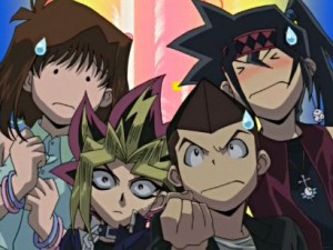 127_tea_yugi_tristan_duke_sweatdrop