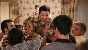 Young Sheldon S01E05 – A Solar Calculator, a Game Ball, and a Cheerleader's Bosom
