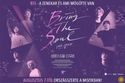 A BTS koreai sztárzenekar filmje nemsokára a mozikban