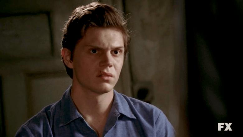 Evan Peters as Kit Walker on American Horror Story Season 2 Asylum S02E04 2
