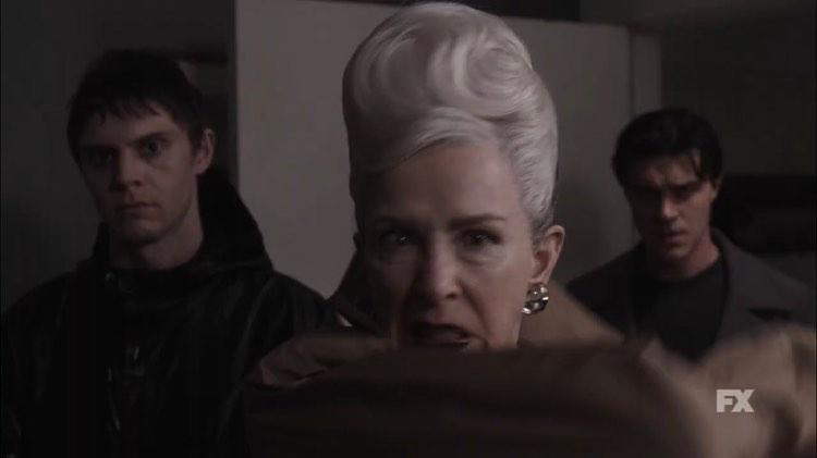 Evan-Peters-Frances-Conroy-Finn-Wittrock-AHS-Double-Feature