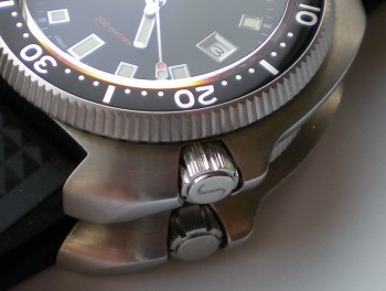 Smiths Diver PRS-68 Sitting On A Seiko 6105