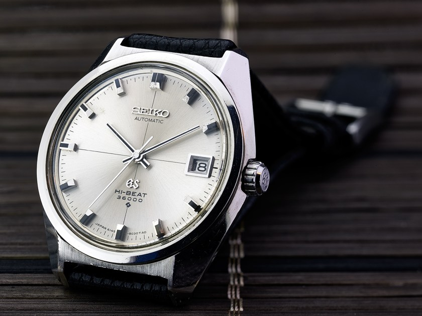 "Grand Seiko 6145-8000 ""Cross dial"""