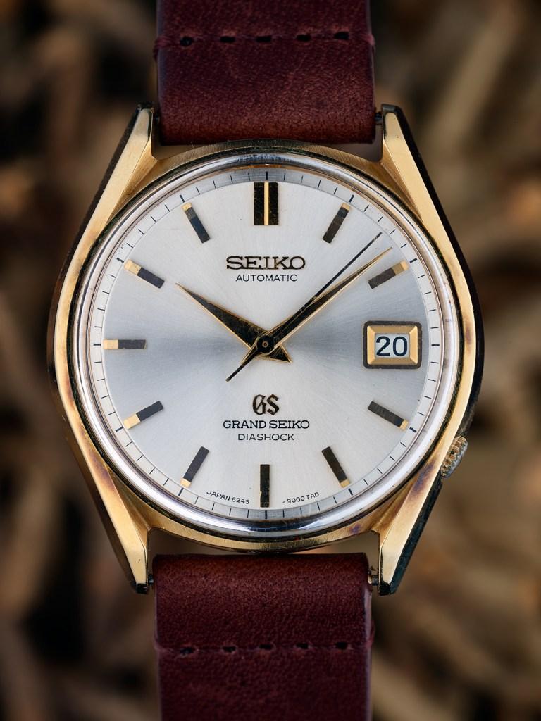Grand Seiko 6245-9000 Cap Gold