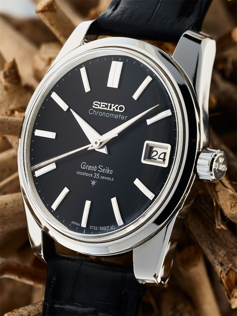 Grand Seiko 5722-9990 black dial