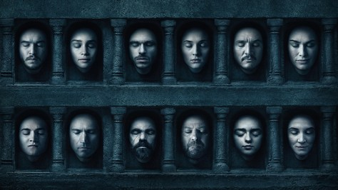 Hall of Faces van Games of Thrones