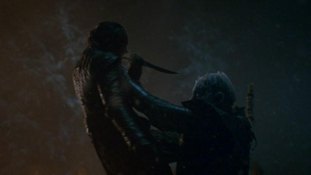 Arya Stark Night King Season 8 803 The Long Night