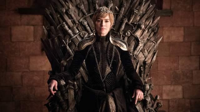 Cersei Lannister Season 8 Iron Throne 801