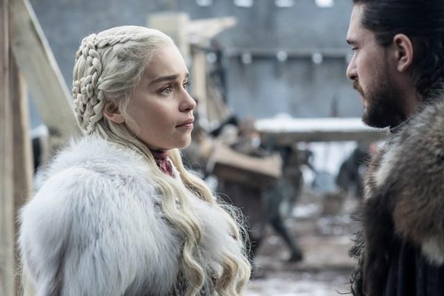 Daenerys Targaryen Jon Snow Season 8 801 1