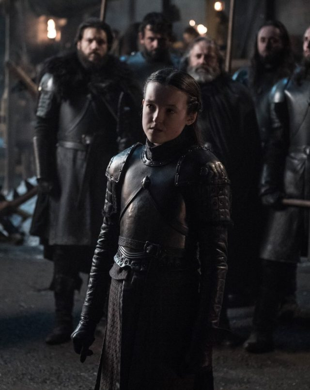 Bella Ramsey as Lyanna Mormont. Photo: Helen Sloan / HBO
