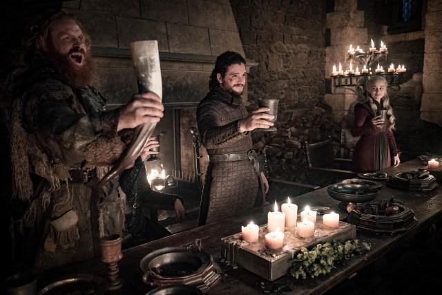 Tormund Jon Snow Daenerys Targaryen Season 8 804