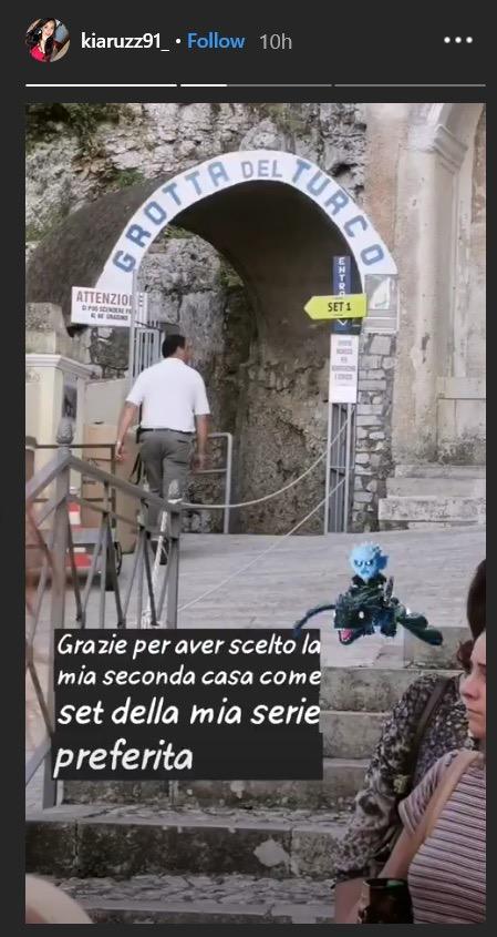 Blood Moon Gaeta Italy