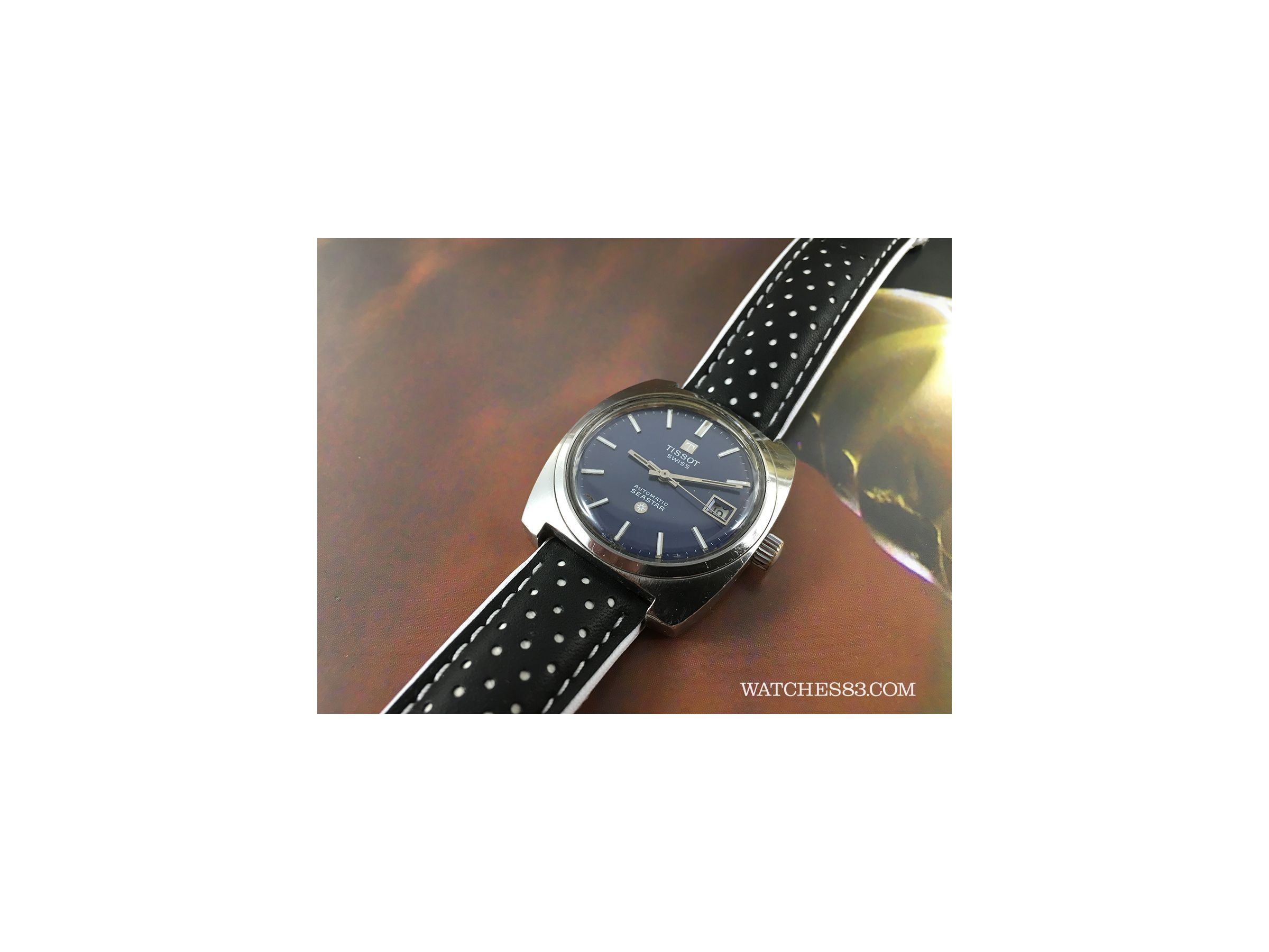 Vintage Swiss Automatic Watch Tissot Seastar Cal Tissot 2481 Watches83