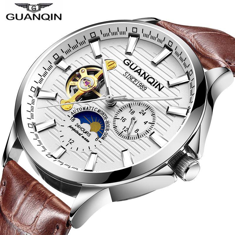 Business Watch Men Luminous Clock