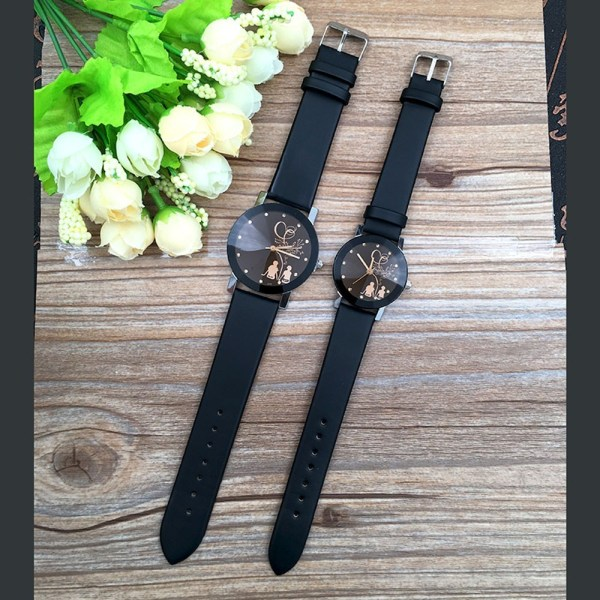 Couple Watches Belt Quartz Watch