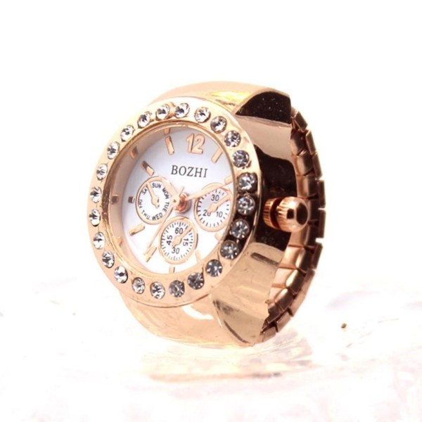 Creative Couple Watch Finger Ring Watch