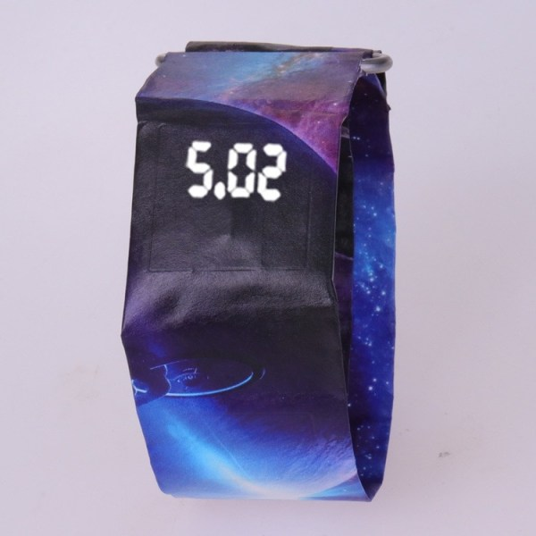 Creative Paper Watch Digital Watches