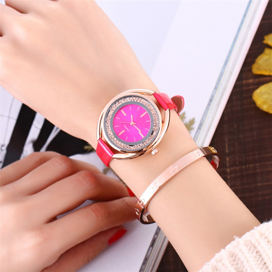 Casual Watch Leather Wrist Watch