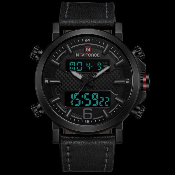 Fashion Sport Watch Leather Quartz