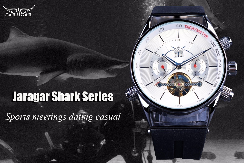 Jaragar Men's Watches Fashion Sport Watch