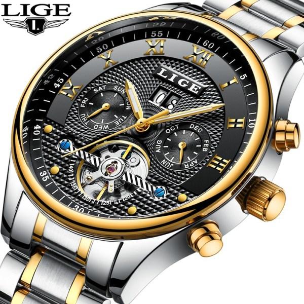 Men Business Waterproof Clock Men's Watches