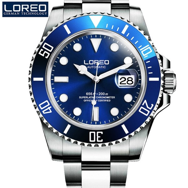 Men Watches Sapphire Military Watches