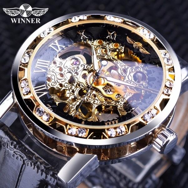 Retro Luminous Watch Skeleton Wrist Watches