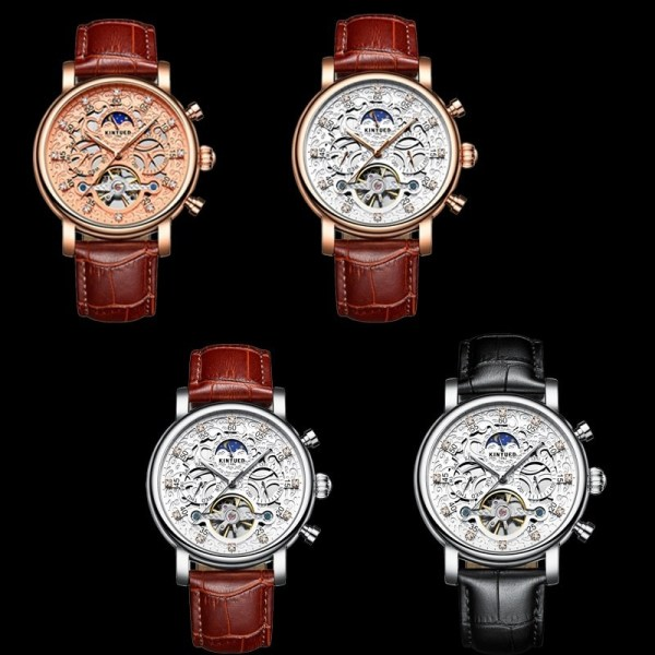 Skeleton Automatic Watch Tourbillon Mechanical Watches