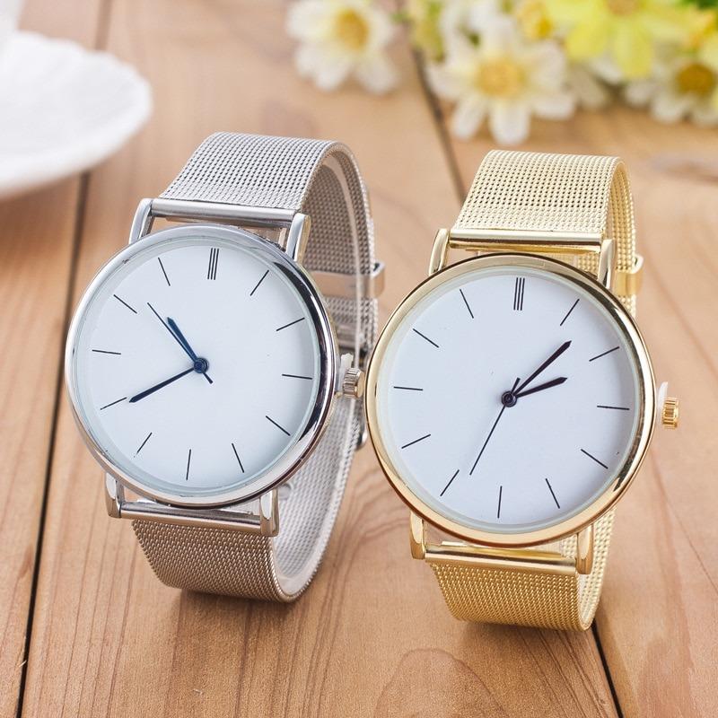 Casual Quartz Watch Mesh Watches