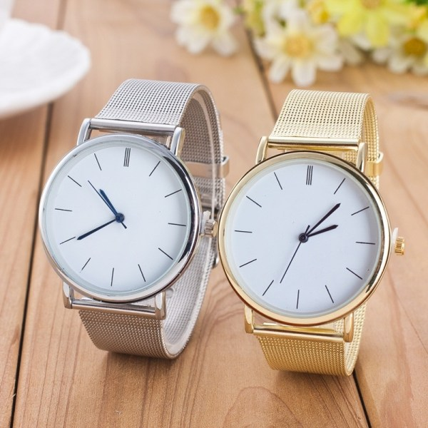 Casual Quartz Watch Mesh Watches