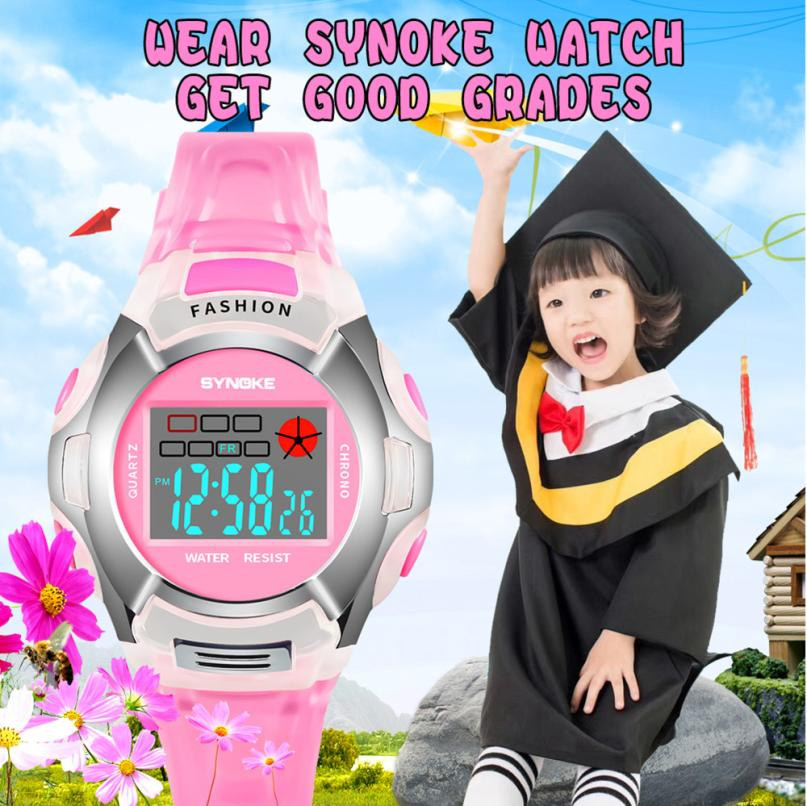 Children Watch Digital Sports Watches
