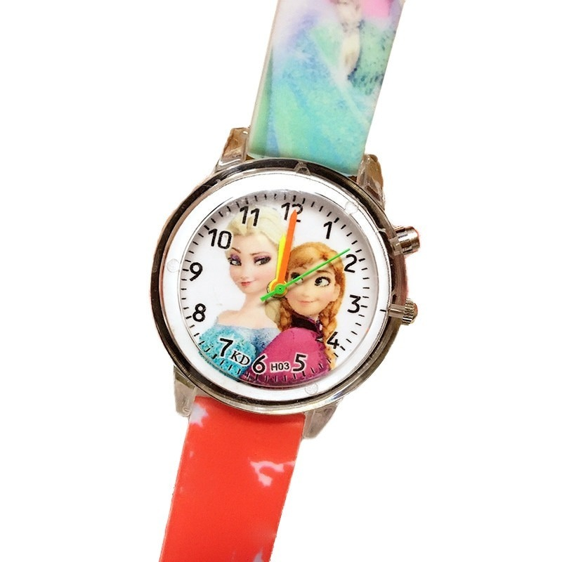 Elsa Children Watches Colorful Child Watch